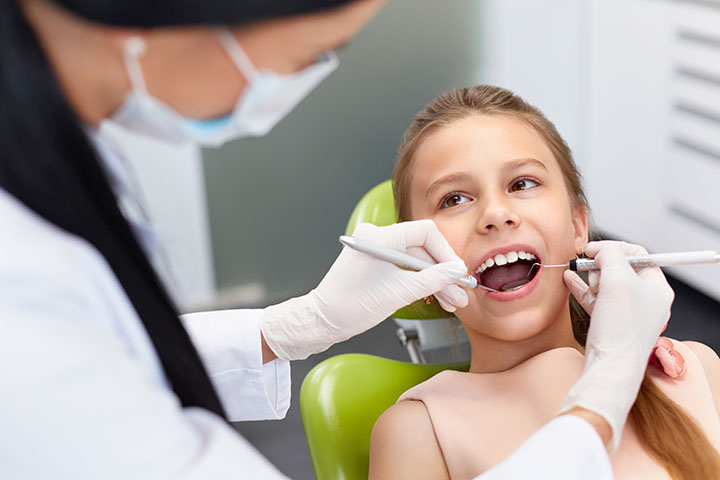 Child at a Dental