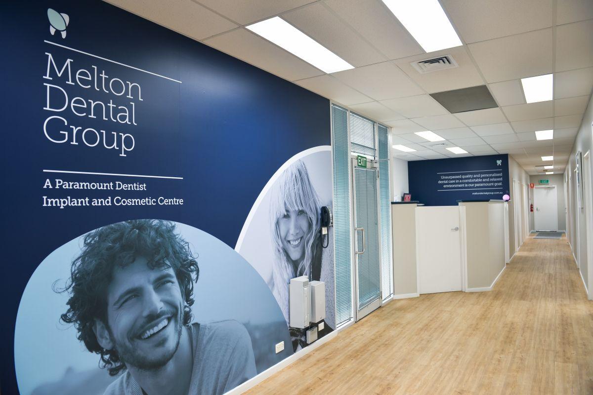 Melton Dental Group Hallway